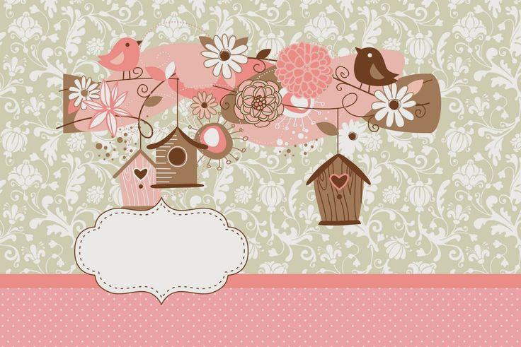 Pájaros y Jaulas: Invitaciones para Imprimir Gratis. | Ideas y material gratis para fiestas y celebraciones Oh My Fiesta!