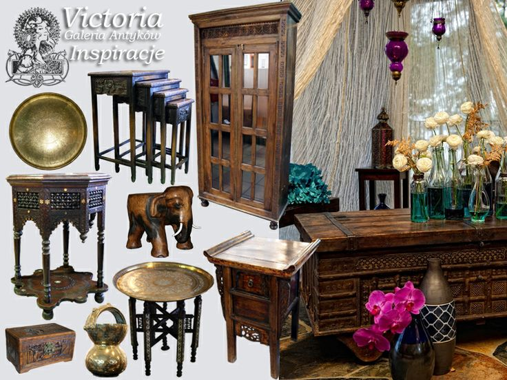 oriental inspirations, moroccan decor, antiques