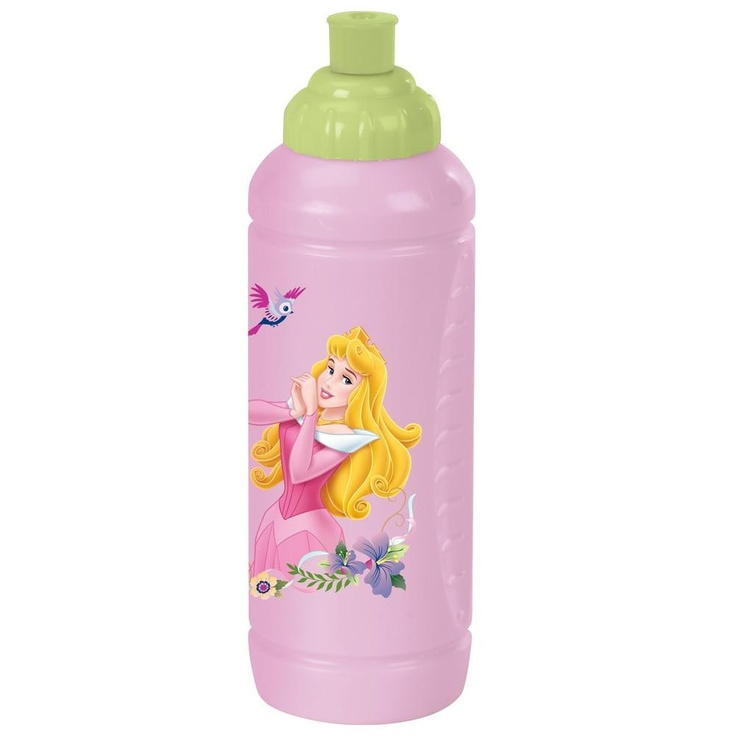 Sporttipullo, Prinsessat    Prinsessat sarjan kuosissa on tutut prinsessat rakastetuista saduista.     Prinsessat sarjan sporttipullo on valmistettu muovista ja sen vetoisuus on 425ml.