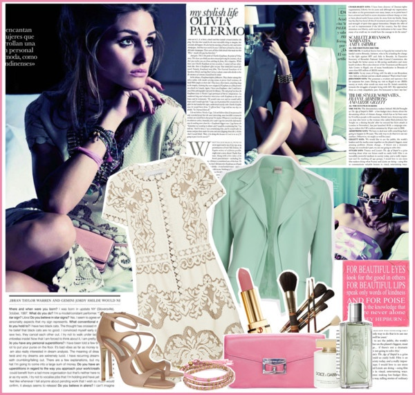 """""""Olivia Palermo by David Burton for Elle Spain July 2012"""" by oriya ❤ liked on Polyvore"""