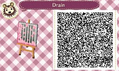 """mayorshannon: """"I made this cute drain for springtime. It was inspired by my current paths. """""""