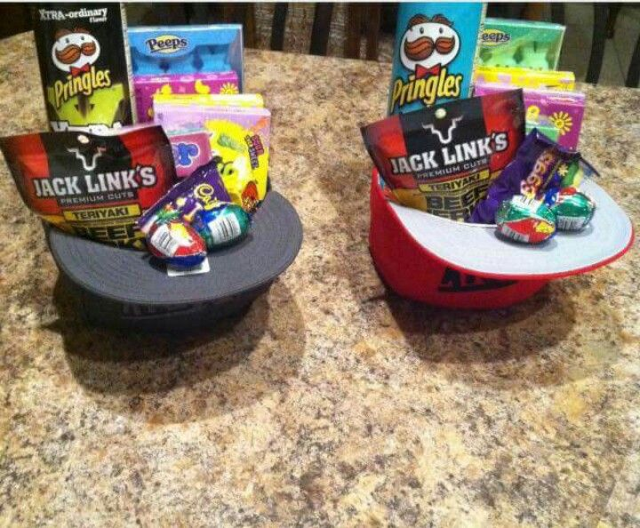 Easter baskets for older boys and purses for girls