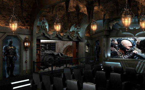 Would you want your home theater looking like this? You'll never believe how much this costs! #BetterEntertaining: The Dark Knights, Home Theater, Theater Rooms, Movie Theater, Custom Home, Million Dollar Home, Home Theatre, Theater Seats, Man Caves