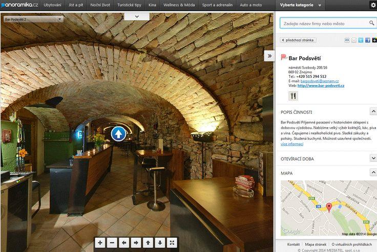 Panoramika.cz je online katalog virtuálních prohlídek v české republice řazený dle tematických celků a lokality. Prohlédněte si krásné panoramatické fotografie, které vás virtuálně provedou obchody, restauracemi, hotely, turistickými tipy, nočním životem, sportem a dalšími aktivitami. Vyberte si dle Vašeho zájmu 3D prohlídku. #3D #Mediatelcz