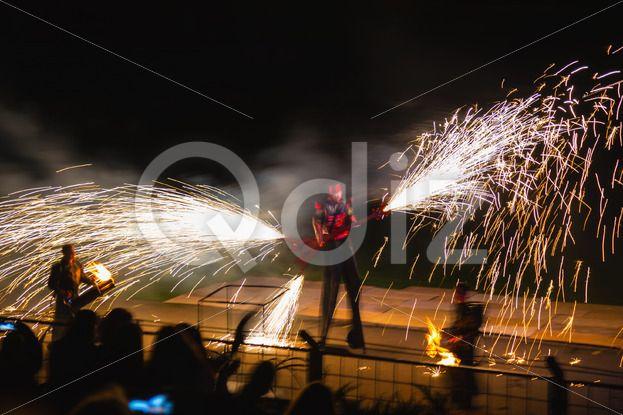 Qdiz Stock Photos Fire show,  #action #artist #blaze #blazing #bonfire #burn #burning #danger #demolished #editorial #effect #energy #exploding #explosion #fiery #fire #firebrand #fireshow #firewall #flame #flamethrower #flametongue #flammable #furious #glowing #guitar #heat #hellfire #hot #ignite #illuminated #illustrative #inferno #light #male #man #motion #night #people #perfomance #power #projector #show #smoke #spitfire #swirl #warm #wildfire #yellow