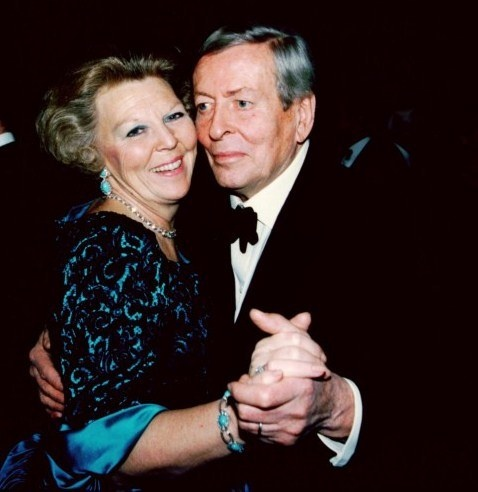 Queen Beatrix of the Netherlands  Prince Claus of the Netherlands. Married from 1966 til his death in 2002.