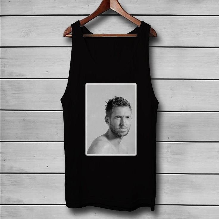 Calvin Harris Custom Tank Top T-Shirt Men and Woman