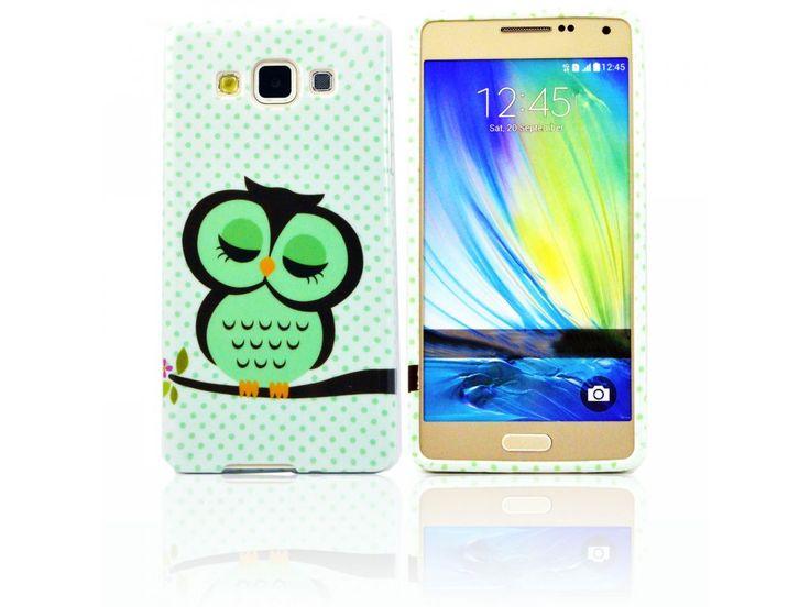 Silikónový kryt (obal) pre Samsung Galaxy Alpha - sova