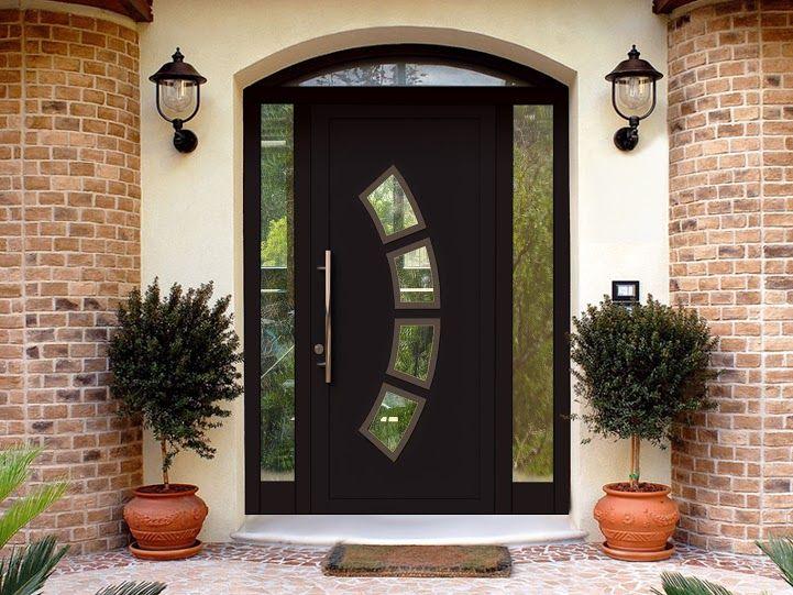 Теплая входная дверь Calida