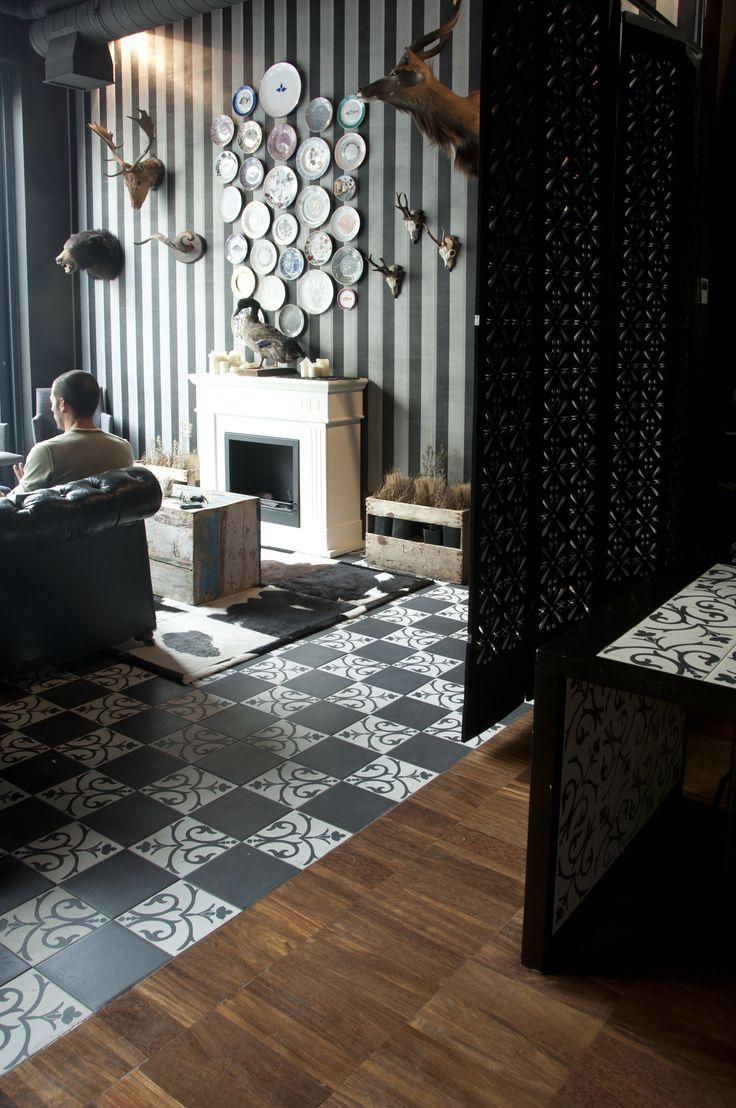 Combina la belleza del pasado y la tecnología del presente. #diseño #arquitectura #interiorismo http://www.neoceramica.es/