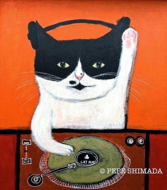 """Gold record CAT DJ"" - Pepe Shimada"