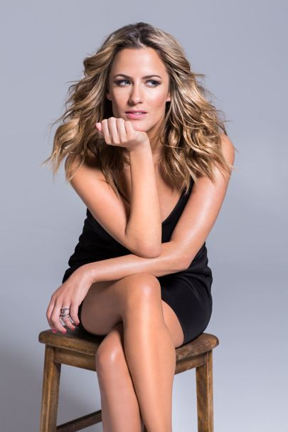 Caroline Flack hair tips - Beauty Secrets - Caroline Flack GLAMOUR interview | Glamour UK