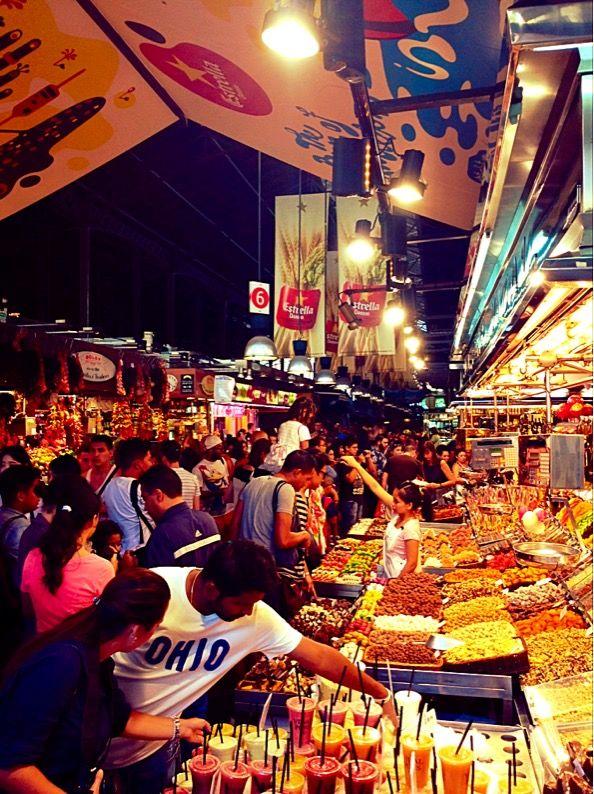 Barcelona Barrel Market