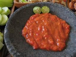 Chili Sauce with Shrimp Paste - Sambal Terasi