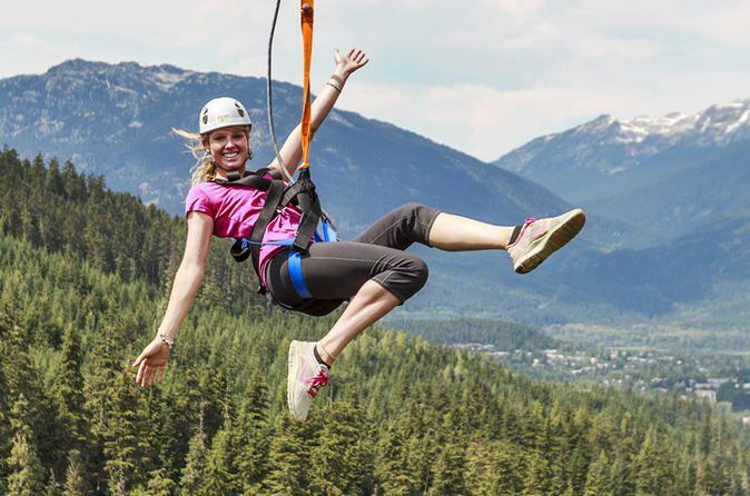 Zipline Adventure in Whistler 2018