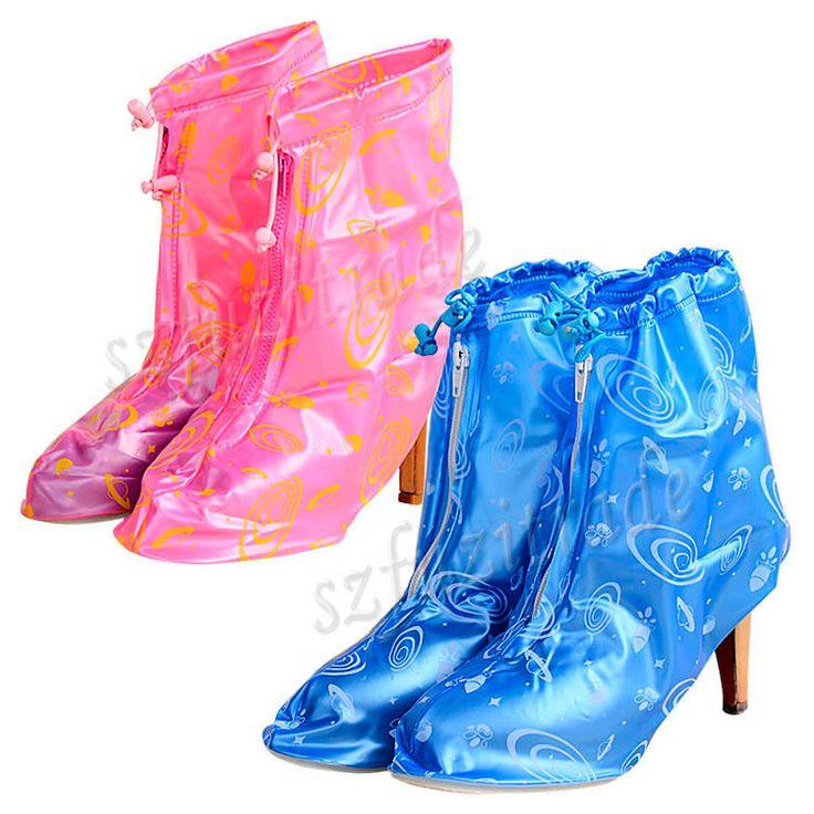 <b>Waterproof Rain</b> Proof High-heeled Women Beauty <b>Shoes Boots</b> ...