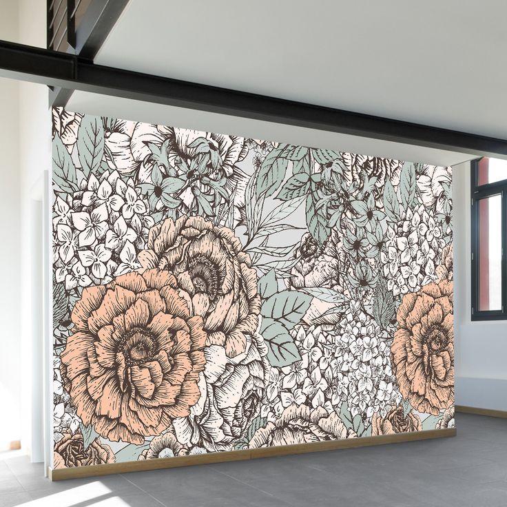 Best 25+ Floral wall art ideas on Pinterest | Flower wall ...