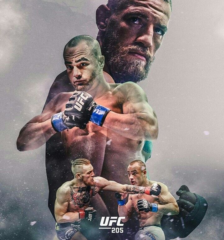 This should be the official MMA poster for UFC 205 Eddie Alvarez vs Conor McGregor