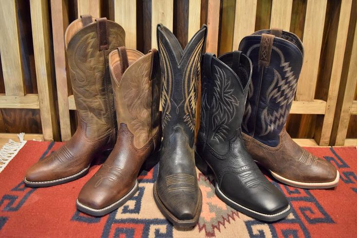 These boots will stop any lady in her tracks! Skip's Western Outfitters has NEW styles of men's western boots from @ariatinternational! With these boots…nothing can stop you! #DaytonaBeach #Ariat http://www.skipsboots.com/collections/ariat/cowboy-boots+mens