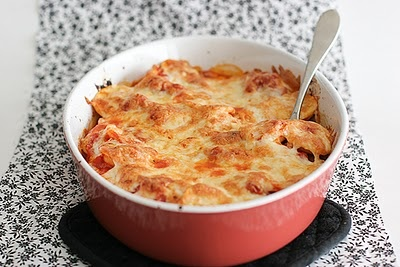 BAKED RAVIOLI - LIKE LASAGNA WITHOUT ALL THE WORK! |