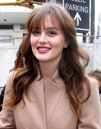 Leighton Meester Long Soft Waves Hairstyle Wave