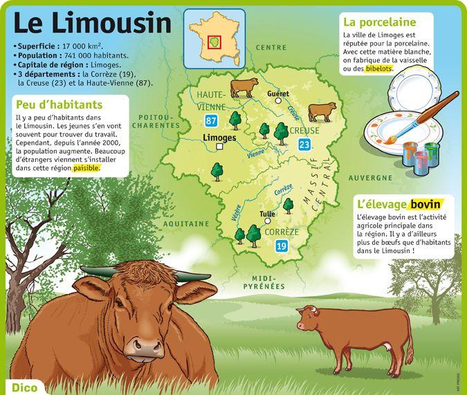 Fiche exposés : Le Limousin