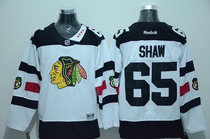 new styles f3353 a14c8 mens chicago blackhawks 65 andrew shaw reebok white 2016 ...
