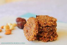 SCD Chunky Fruit & Nut Cookies (*Use SCD legal dried dates / OJ...)