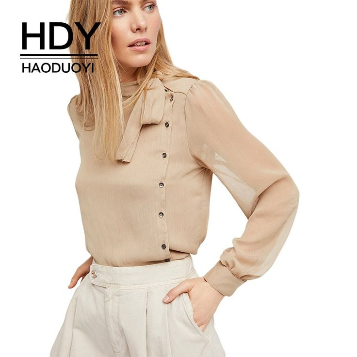 Like and Share if you want this  HDY Haoduoyi Apparel Solid Color Semi-Sheer Sexy Women Shirts Lace-up Belt Single Breasted Lady Tops Preppy Style Casual Blouses     Tag a friend who would love this!     FREE Shipping Worldwide     Get it here ---> https://onesourcetrendz.com/shop/all-categories/womens-clothing/womens-blouses/hdy-haoduoyi-apparel-solid-color-semi-sheer-sexy-women-shirts-lace-up-belt-single-breasted-lady-tops-preppy-style-casual-blouses/