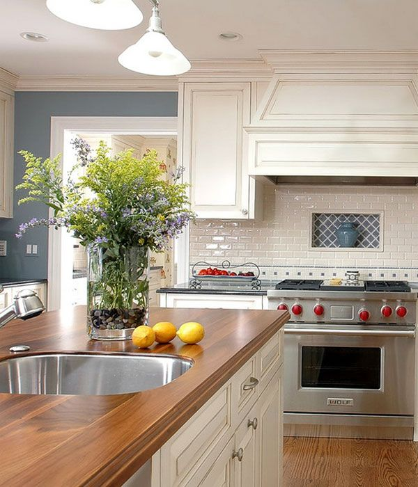 17 best images about in the kitchen on pinterest wood for Kitchen arrangements photos