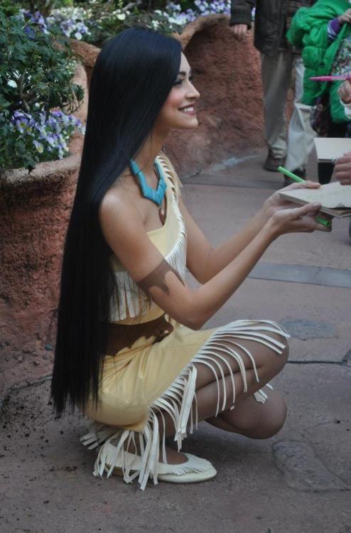 Always wanted Pocahontas hair<3