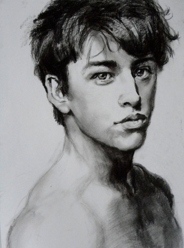 Mitch Hewer by Zombieyue on deviantART - Charcoal
