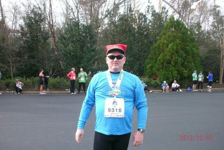 Post Race Christmas Town 8k At Busch Gardens Running