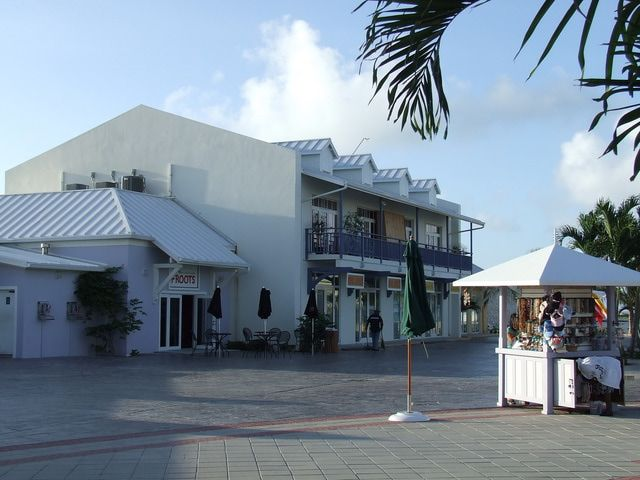 Grand Turk Island in the Turks & Caicos: Grand Turk Cruise Center Shops