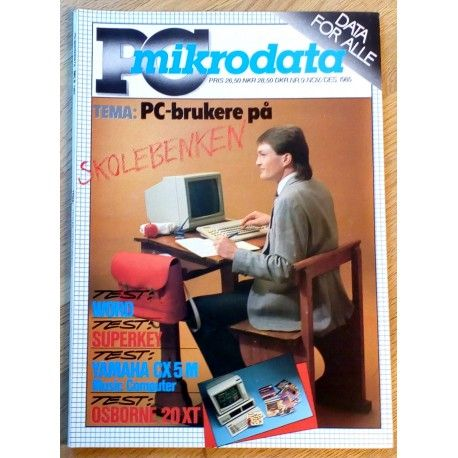 PC Mikrodata: 1985 - Nr. 9 - PC-brukere på skolebenken