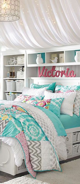 get inspired to create a trendy bedroom for little girls with these decorations and furnishings - Bedroom Ideas Girl