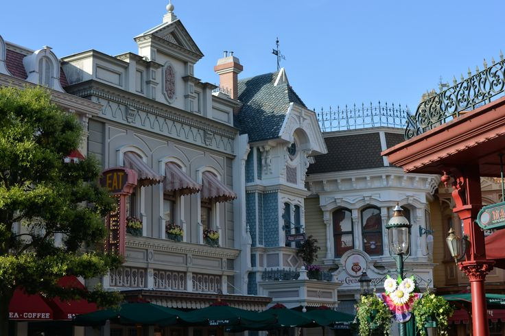 Paris Disneyland Mainstreet