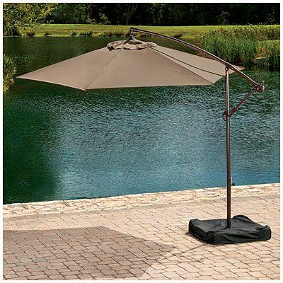 Wilson U0026 Fisher® Offset 10u0027 Umbrella With Base At Big Lots.