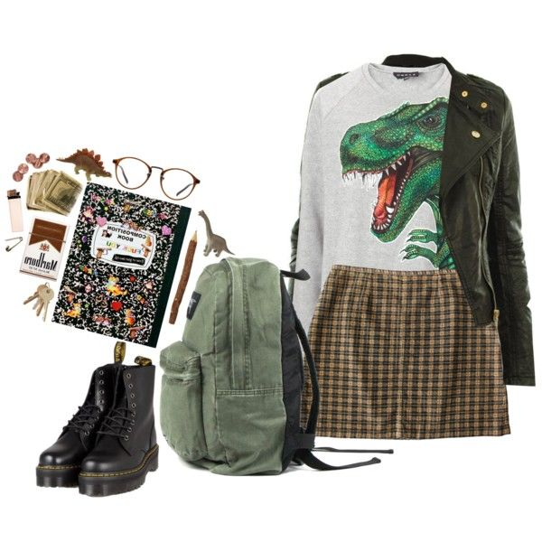 I only like this because the dinosaur shirt reminds me of the one June b jones wears on picture day
