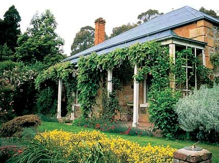 The gardens of St Erth, Victoria Australia
