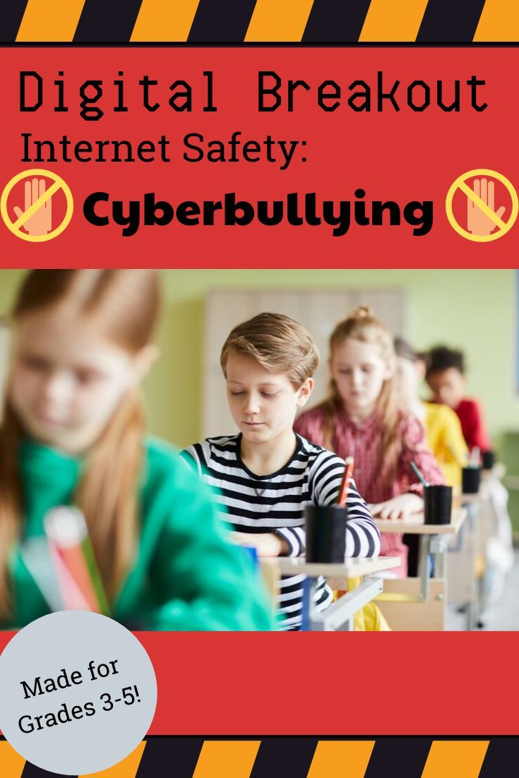 Using technology and problem solving skills, students decipher codes and complete activities to learn the internet safety topic of Cyberbullying. The …