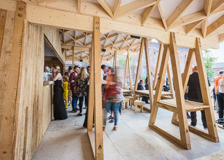 Constellations Bar by H Miller Bros is a courtyard canopy in Liverpool