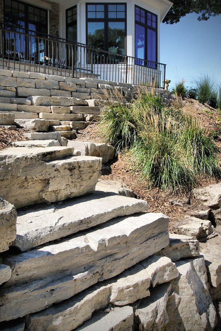 Fond Du Lac Outcroppings Fond Du Lac Wall Stone Stone Veneer Wall Landscape Stone Wall Design
