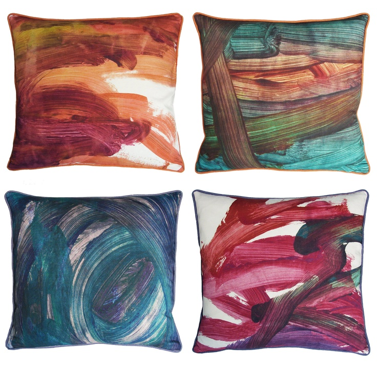 FingerPaint Pillows