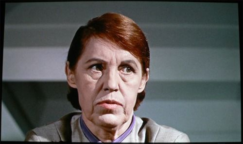 "Lotte Lenya as the evil Rosa Klebb in ""From Russia With Love"""