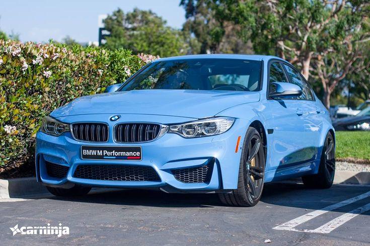F80 BMW M3 Sedan Yas Marina Blue Spotted In The U.S. - http://www.bmwblog.com/2014/03/20/f80-bmw-m3-sedan-yas-marina-blue-spotted-u-s/