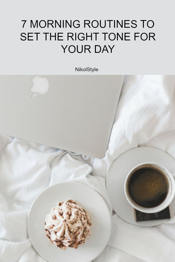 There are a number of different ways how we can improve our life by improving our morning routine. Here are 7-morning routines that I personally find the most helpful: