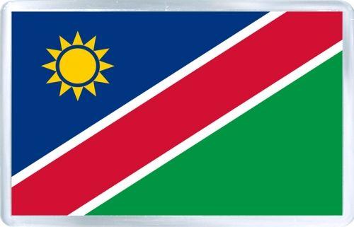 $3.29 - Acrylic Fridge Magnet: Namibia. Flag of Namibia