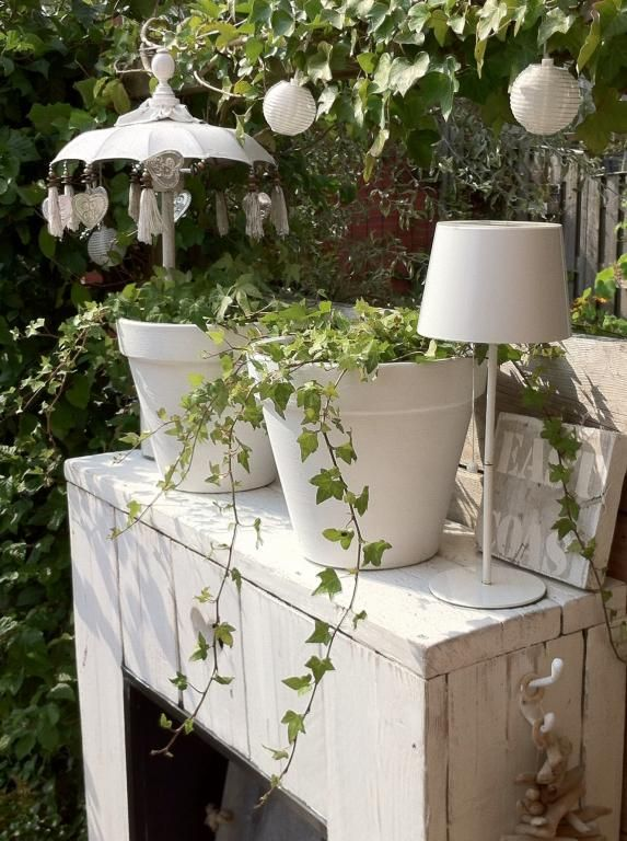 20 best images about tuin decoratie on pinterest gardens planters and wire baskets - Outdoor tuin decoratie ideeen ...