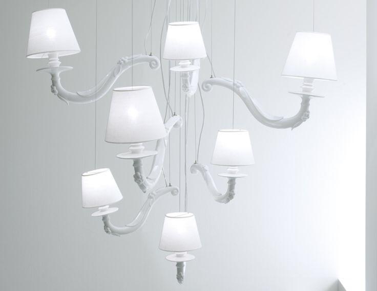 karman lighting. djvu lampadario by karman design matteo ugolini lighting u